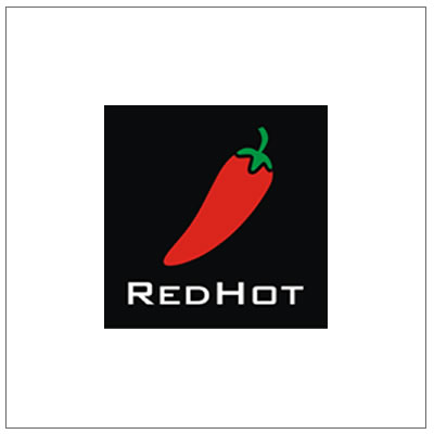 REDHOT logo